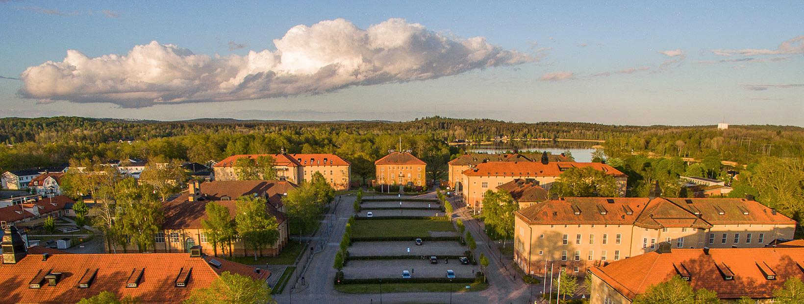 Kontor med Eksjös bästa utsikt